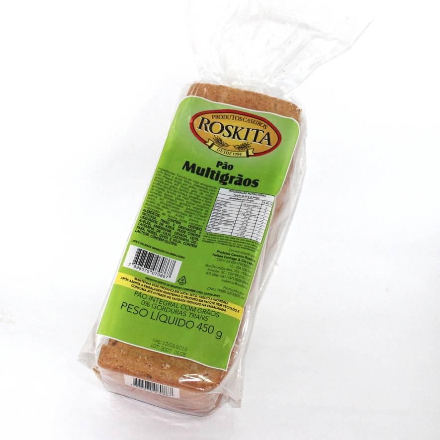 Pão Multigrãos 450g (Nova Embalagem/Novo Produto) Experimente!!!