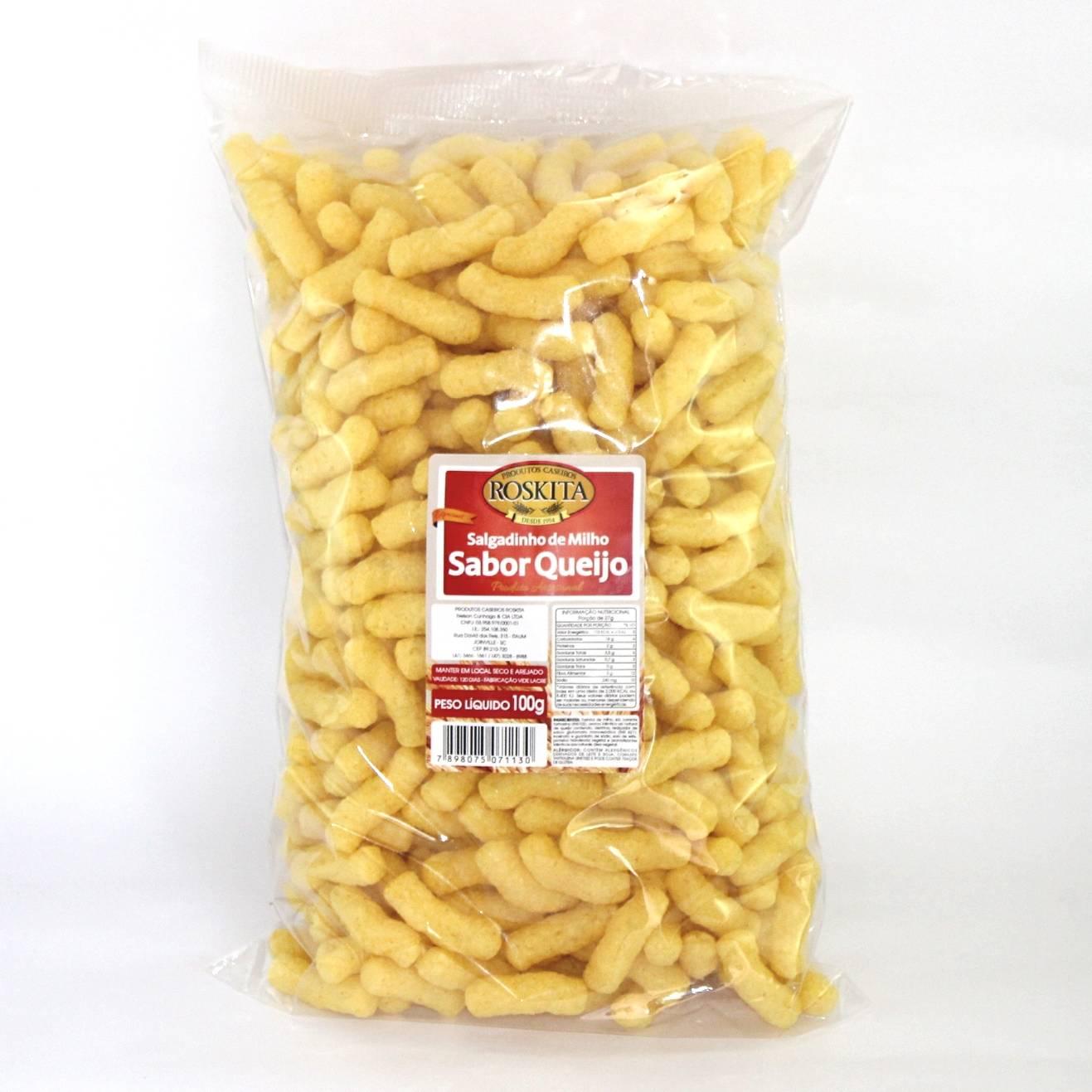 Salgadinho de Milho Sabor Queijo 100g
